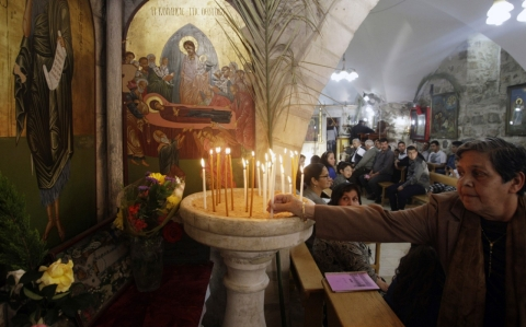 Thumbnail image for Palestinian Christians 'bitter and left out' of Easter celebrations