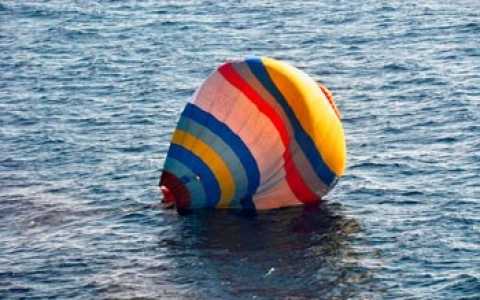 Thumbnail image for Chinese man lands hot air balloon near disputed islands