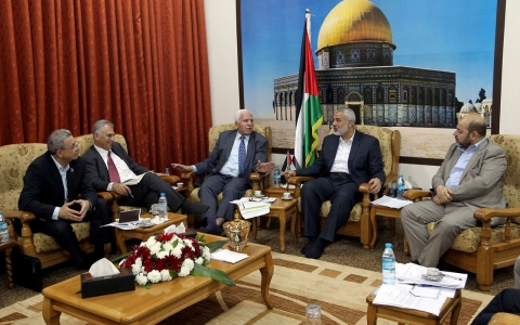 Thumbnail image for Hamas-Fatah unity agreement challenges U.S. Mideast efforts