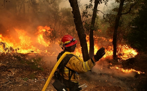 Thumbnail image for Extended California fire season confirms severity of climate change