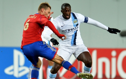 Thumbnail image for Manchester City player alleges racist abuse by Russian fans