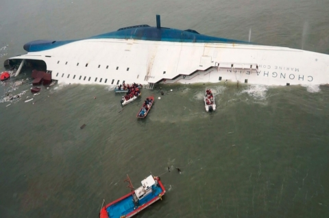 Thumbnail image for Focus on human error as toll rises in South Korea ferry disaster