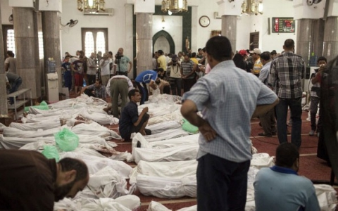Thumbnail image for Smell of death lingers in Cairo mosque