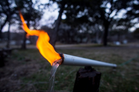 Thumbnail image for Flaming water: Texas homeowner takes on a gas company