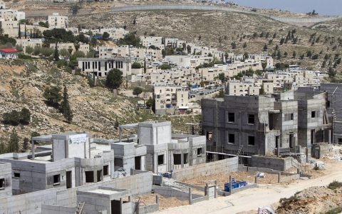 Thumbnail image for Israel sets settlement-building record as peace talks deadline lapses