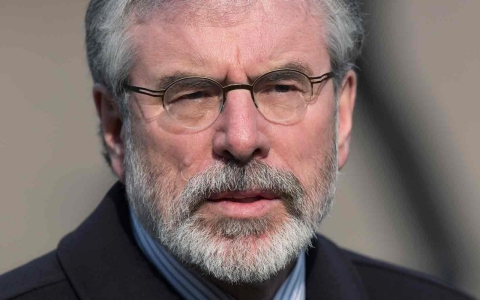 Thumbnail image for Sinn Fein party leader Gerry Adams arrested over 1972 IRA murder