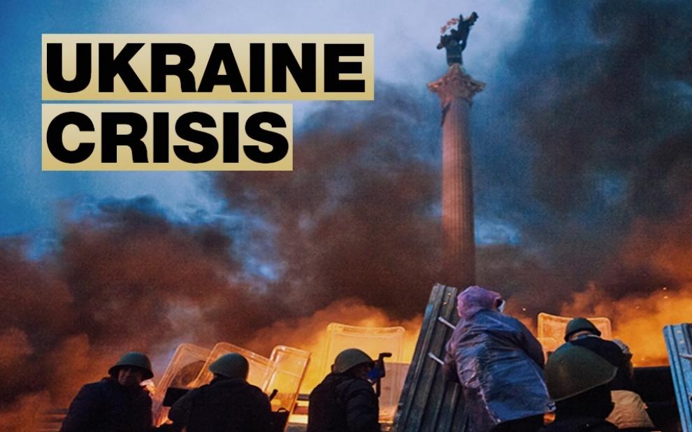 Ukraine In Emergency Talks With European Neighbors Over Gas - Map ukraine over us