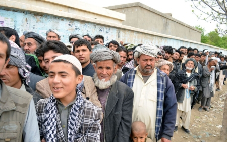 High turnout in Afghanistan elections