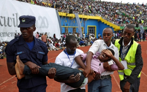 Thumbnail image for Rwandans mark 20th anniversary of genocide