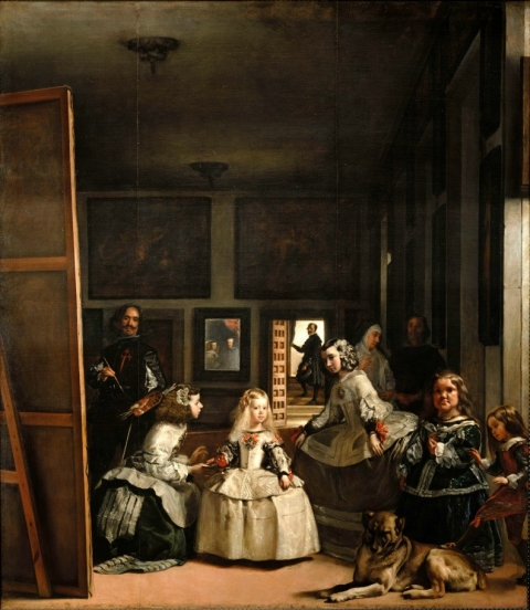 Diego Velázquez's Las Meninas, pictured above, isn't quite your typical self-portrait, but the overlapping perspectives and positions of the subjects make this work a favorite amongst art historians