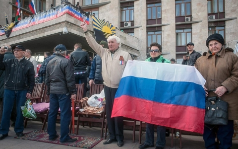 Thumbnail image for Pro-Russian separatists proclaim independent republic in eastern Ukraine