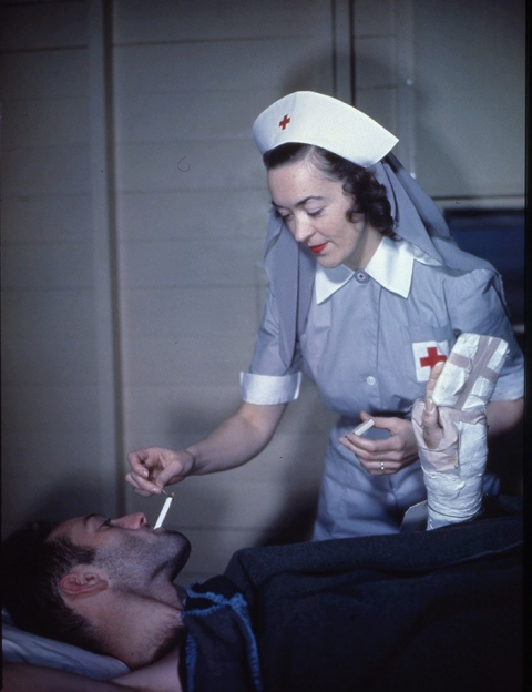 World War II, soldiers, cigarettes, health care
