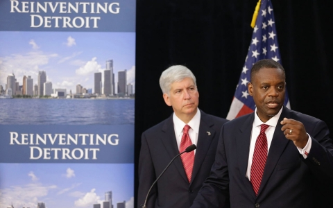 Thumbnail image for Detroit reaches bankruptcy deal over $388M in bonds