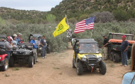 In the American West, tensions on the trail over federal rule
