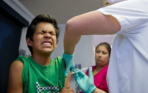 Thumbnail image for Uphill battle on vaccination education continues amid loud opposition