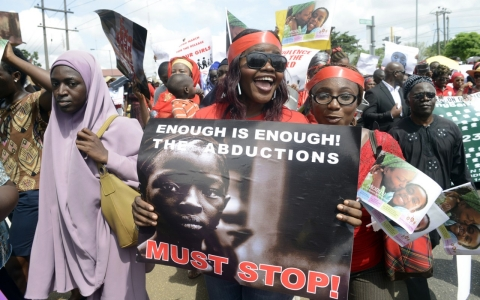 Thumbnail image for Global outrage over kidnapping of Nigerian schoolgirls