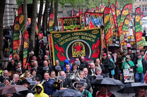 Thumbnail image for Photos: May Day around the globe