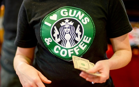 Thumbnail image for Newtown, Starbucks and guns