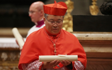 Thumbnail image for South Korean cardinal visits North, a first