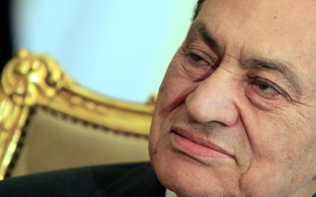 Mubarak sentenced to 3 years