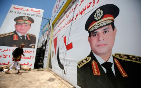 Thumbnail image for Egypt's presidential history: Military's tight grip on power