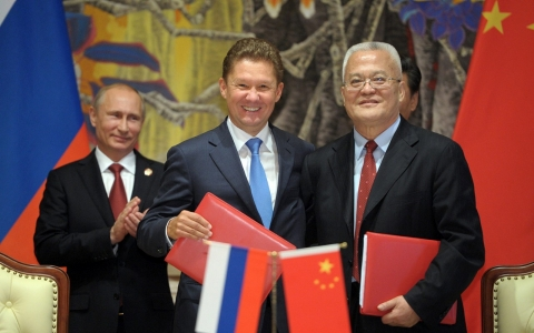 Thumbnail image for At long last, Russia signs massive gas deal with China