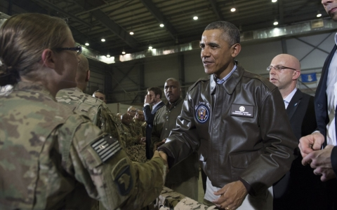 Thumbnail image for Obama hints at continuing limited role in Afghanistan