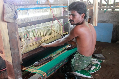 handloom, textiles, India, debt