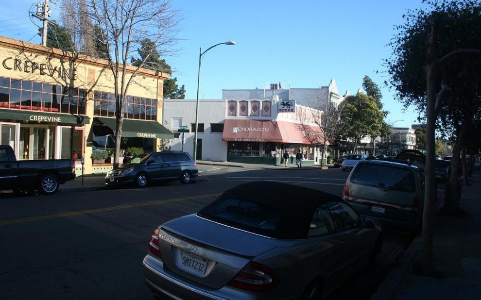 Rockridge, a middle-upper class neighborhood in Oakland, California.