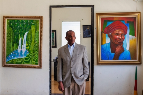 Antonio Pol Emile, 63, lawyer, is the director of the Dominico-Haitian Cultural Center and an elected representative in the municipality of San Pedro de Macorìs.