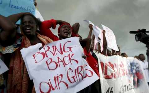 Thumbnail image for Boko Haram forcing kidnapped girls to marry, rights group says