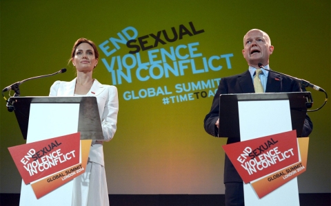 Thumbnail image for Summit urges world not to 'turn aside' from wartime sexual violence