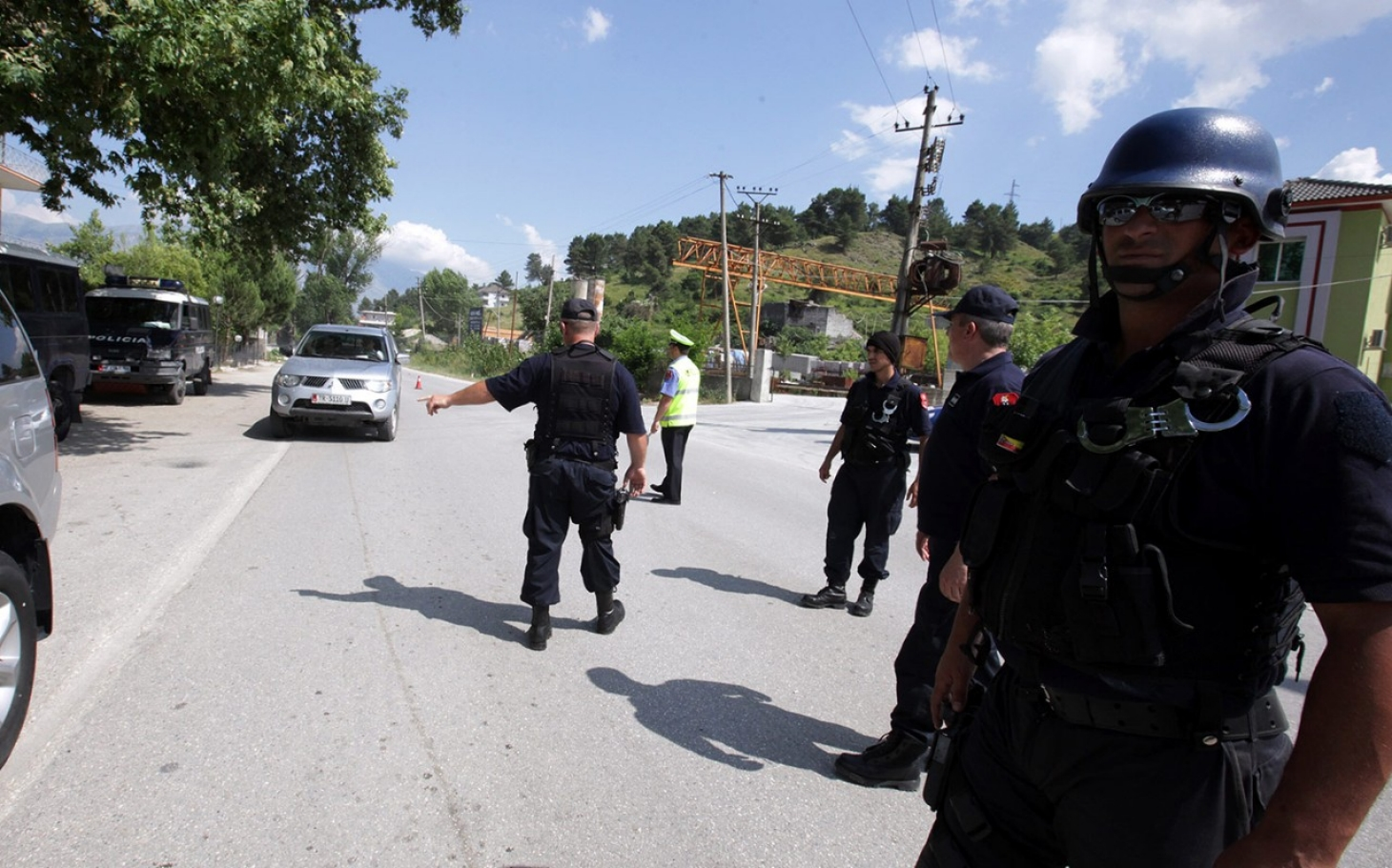 Albanian Police Storm Marijuana Village After Growers
