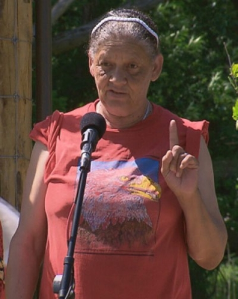 Ramapough Clan Mother Vivian Milligan