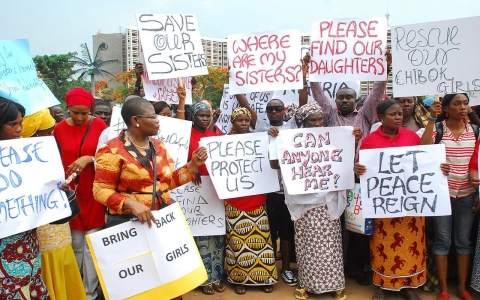 Thumbnail image for Boko Haram bloodshed prompts ban on kidnapped girls protests