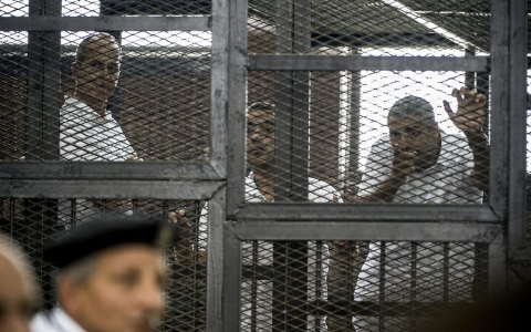 Thumbnail image for World leaders, news outlets unite to condemn Al Jazeera sentences