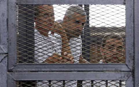 Thumbnail image for Egypt sentences Al Jazeera journalists to years in prison