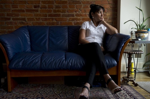 CIA operative Sabrina De Sousa, photographed in her home, July 19, 2013, in Washington, D.C., who has been convicted in absentia in Italy of the kidnapping of Egyptian cleric Hassan Mustafa Osama Nasr, known as Abu Omar, in Milan in 2003. De Sousa is now speaking out about the incident, which she claims she did not know about, and even if she did, she says she should be given immunity because she was a diplomat.