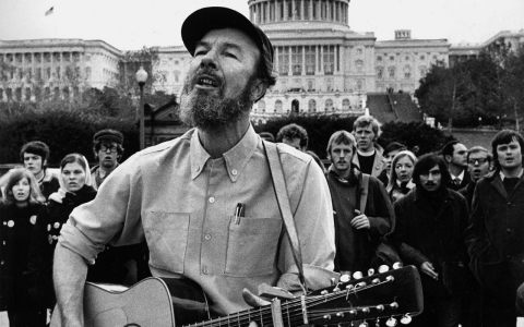 Thumbnail image for In defense of Pete Seeger, American communist