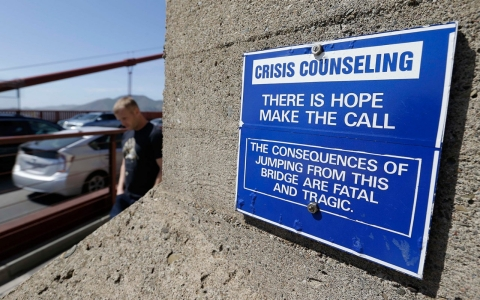 Thumbnail image for Funding approved for Golden Gate Bridge anti-suicide net