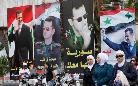 Thumbnail image for Syrians vote in presidential elections amid sounds of war