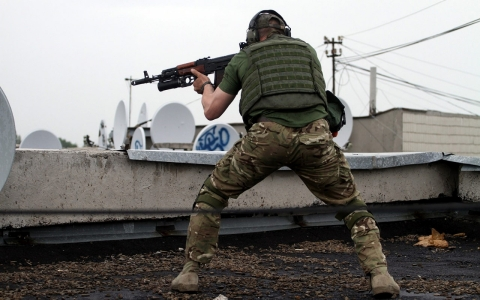 Thumbnail image for Pro-Russian rebels clash with government forces across eastern Ukraine