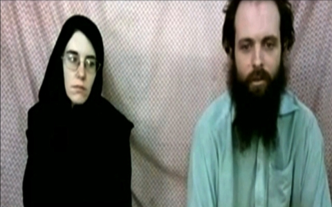 Thumbnail image for Taliban holding US woman and her Canadian husband, families say