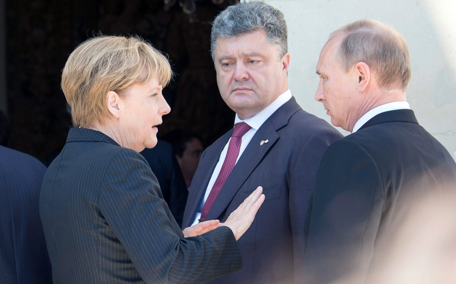 putin and ukraine president meet native american
