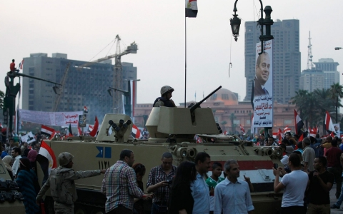 Thumbnail image for Egypt arrests 7 for sexual assault in Tahrir Square