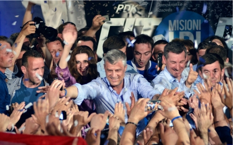 Thumbnail image for Kosovo's ruling party claims victory after vote