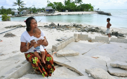 Plagued by sea-level rise, Kiribati buys land in Fiji