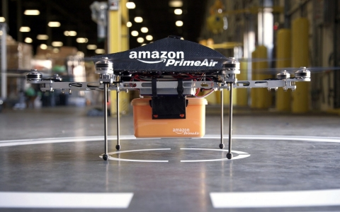 Thumbnail image for Amazon asks FAA for permission to test drones