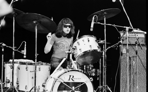 Thumbnail image for Tommy Ramone: Lean and insistent, his drums formed the band's backbone
