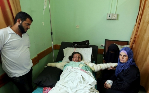 Thumbnail image for Dread is the latest ailment afflicting Gaza's sick, elderly and infirm